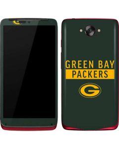 Green Bay Packers Green Performance Series Motorola Droid Skin