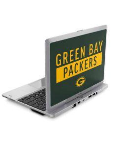 Green Bay Packers Green Performance Series Elitebook Revolve 810 Skin