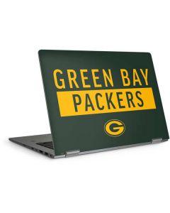 Green Bay Packers Green Performance Series HP Elitebook Skin