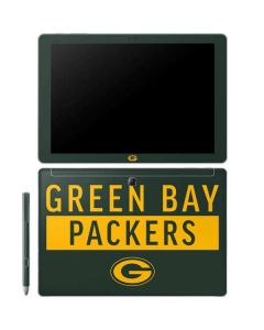 Green Bay Packers Green Performance Series Galaxy Book 12in Skin