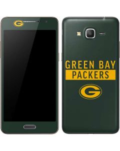 Green Bay Packers Green Performance Series Galaxy Grand Prime Skin