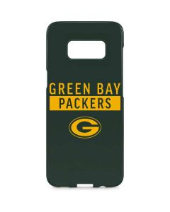 Green Bay Packers Green Performance Series Galaxy S8 Plus Lite Case