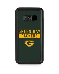 Green Bay Packers Green Performance Series Galaxy S8 Plus Waterproof Case