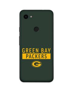 Green Bay Packers Green Performance Series Google Pixel 3a Skin