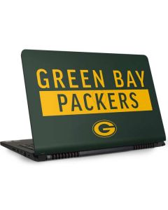 Green Bay Packers Green Performance Series Dell Inspiron Skin