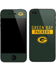 Green Bay Packers Green Performance Series iPhone 4&4s Skin