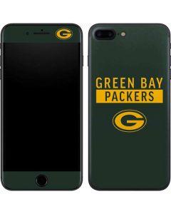 Green Bay Packers Green Performance Series iPhone 7 Plus Skin