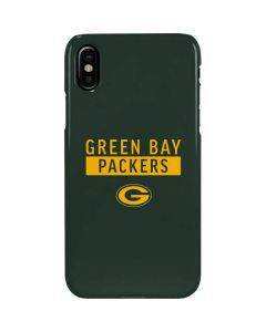 Green Bay Packers Green Performance Series iPhone XS Max Lite Case