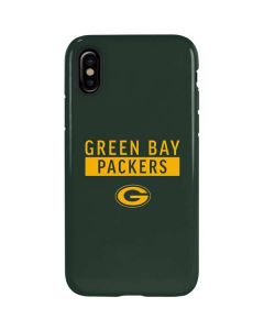 Green Bay Packers Green Performance Series iPhone XS Max Pro Case