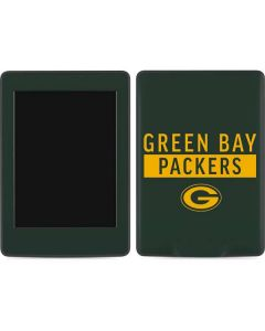 Green Bay Packers Green Performance Series Amazon Kindle Skin