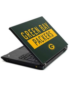 Green Bay Packers Green Performance Series Lenovo T420 Skin