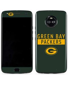 Green Bay Packers Green Performance Series Moto X4 Skin