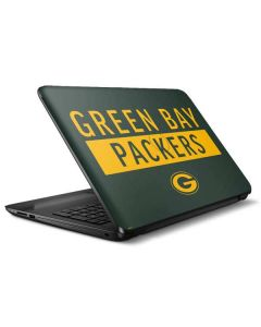 Green Bay Packers Green Performance Series HP Notebook Skin