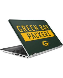 Green Bay Packers Green Performance Series HP Pavilion Skin