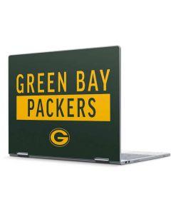 Green Bay Packers Green Performance Series Pixelbook Skin
