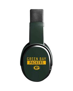 Green Bay Packers Green Performance Series Skullcandy Crusher Wireless Skin