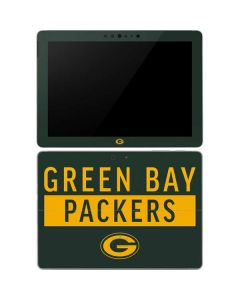 Green Bay Packers Green Performance Series Surface Go Skin