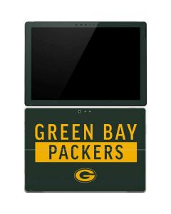Green Bay Packers Green Performance Series Surface Pro 4 Skin