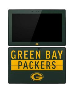 Green Bay Packers Green Performance Series Surface Pro Tablet Skin