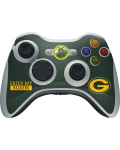 Green Bay Packers Green Performance Series Xbox 360 Wireless Controller Skin