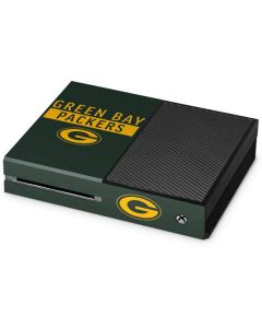 Green Bay Packers Green Performance Series Xbox One Console Skin