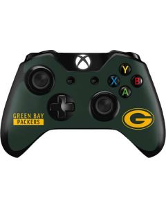 Green Bay Packers Green Performance Series Xbox One Controller Skin