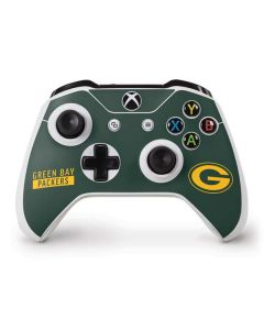 Green Bay Packers Green Performance Series Xbox One S Controller Skin