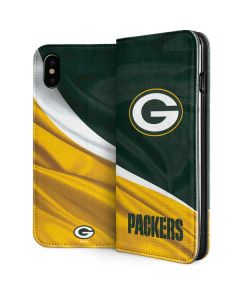 Green Bay Packers iPhone XS Folio Case
