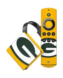 Green Bay Packers Large Logo Amazon Fire TV Skin