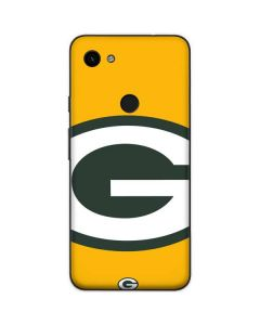 Green Bay Packers Large Logo Google Pixel 3a Skin