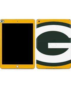 Green Bay Packers Large Logo Apple iPad Skin