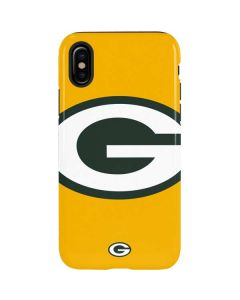 Green Bay Packers Large Logo iPhone X Pro Case