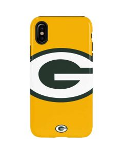 Green Bay Packers Large Logo iPhone XS Max Pro Case