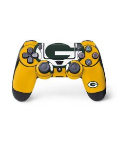 Green Bay Packers Large Logo PS4 Controller Skin
