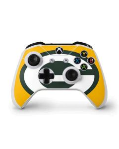 Green Bay Packers Large Logo Xbox One S Controller Skin