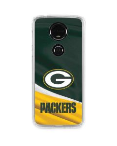Green Bay Packers Moto E5 Plus Clear Case