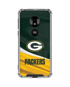 Green Bay Packers Moto G7 Play Clear Case