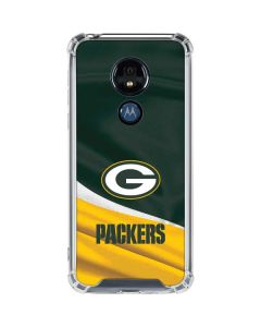 Green Bay Packers Moto G7 Power Clear Case
