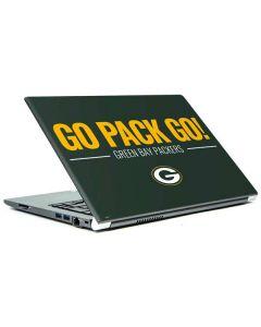 Green Bay Packers Team Motto Portege Z30t/Z30t-A Skin