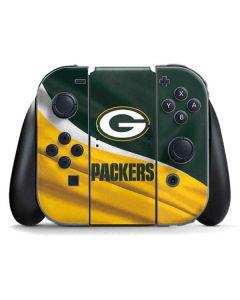 Green Bay Packers Nintendo Switch Joy Con Controller Skin