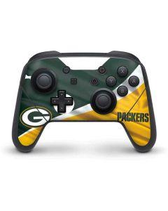 Green Bay Packers Nintendo Switch Pro Controller Skin