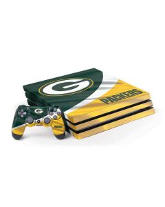 Green Bay Packers PS4 Pro Bundle Skin