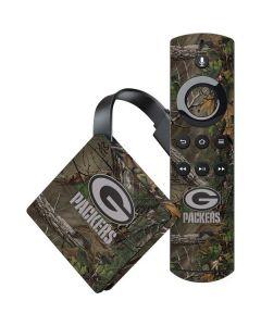 Green Bay Packers Realtree Xtra Green Camo Amazon Fire TV Skin