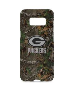 Green Bay Packers Realtree Xtra Green Camo Galaxy S8 Plus Lite Case