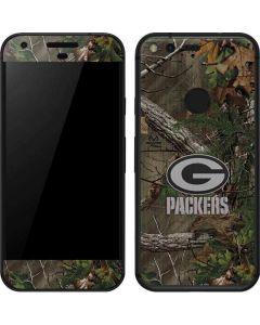 Green Bay Packers Realtree Xtra Green Camo Google Pixel Skin