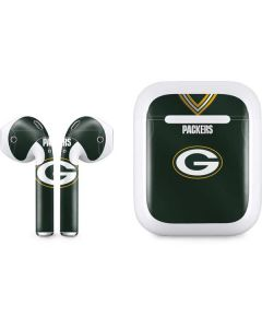 Green Bay Packers Team Jersey Apple AirPods Skin