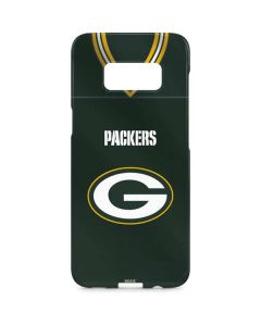 Green Bay Packers Team Jersey Galaxy S8 Plus Lite Case