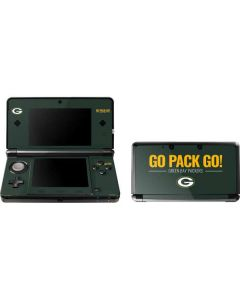 Green Bay Packers Team Motto 3DS (2011) Skin