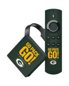 Green Bay Packers Team Motto Amazon Fire TV Skin