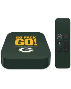 Green Bay Packers Team Motto Apple TV Skin